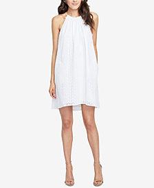 RACHEL Rachel Roy Cotton Sabine Eyelet Swing Dress, Created for Macy's