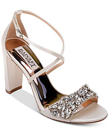 Badgley Mischka Harper Evening Sandals