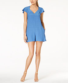 French Connection Open-Back Romper