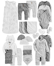 Carter's Baby Boys Elephant Layette Separates