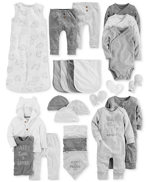 2fdc3075c1f8 Carter s Baby Boys Elephant Layette Separates   Reviews - Sets ...