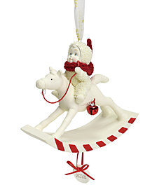 Department 56 Snowbabies Peppermint Pony