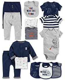 Carter's Baby Boys Lion & Stripe Separates