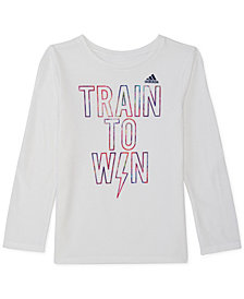 adidas Little Girls Win-Print T-Shirt