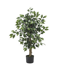 Nearly Natural 3' Artificial Ficus Tree
