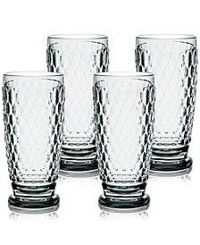 Villeroy & Boch Boston Highball Glasses, Set of 4
