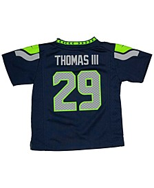 Earl Thomas III Seattle Seahawks Game Jersey, Toddler Boys (2T-4T)