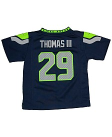 Nike Earl Thomas III Seattle Seahawks Game Jersey, Toddler Boys (2T-4T)