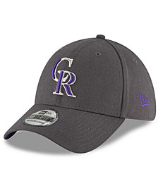 New Era Colorado Rockies Charcoal Classic 39THIRTY Cap