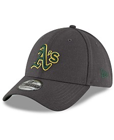 New Era Oakland Athletics Charcoal Classic 39THIRTY Cap