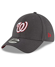 New Era Washington Nationals Charcoal Classic 39THIRTY Cap