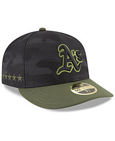 New Era Oakland Athletics Memorial Day Low Profile 59FIFTY FITTED Cap