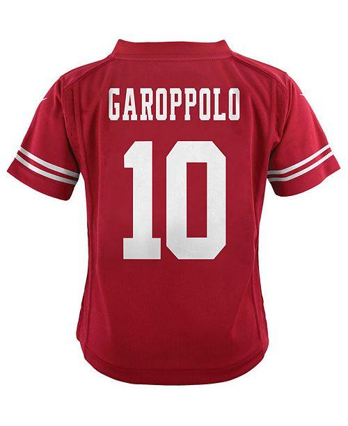 super popular b3f7d 6d145 Jimmy Garoppolo San Francisco 49ers Game Jersey, Toddler Boys (2T-4T)