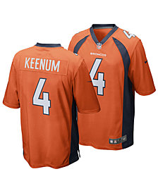 Nike Case Keenum Denver Broncos Game Jersey, Big Boys (8-20)