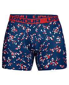 Under Armour Men's O-Series Printed Boxer Briefs