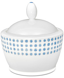 Noritake Blue Hammock Covered Sugar Bowl, Created for Macy's
