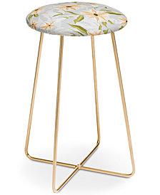 Deny Designs Iveta Abolina Bertadene Garden Counter Stool