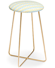 Deny Designs Caroline Okun Love Data Summer Counter Stool