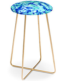 Deny Designs Rosie Brown Blue Chips Counter Stool