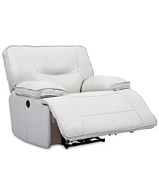 CLOSEOUT! Mantella Leather Power Recliner with USB Power Outlet