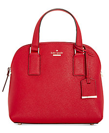 kate spade new york Cameron Street Lottie Small Saffiano Leather Satchel