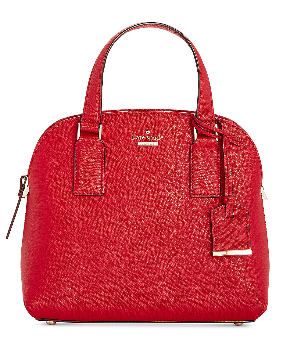 c39e284580b81 kate spade new york. Cameron Street Lottie Small Saffiano Leather Satchel
