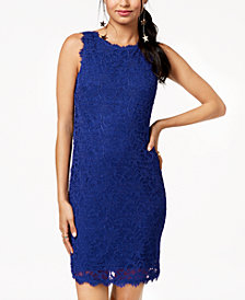 Jump Juniors' Sleeveless Lace Dress