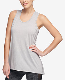DKNY Sport Crossover-Back Tank Top, Created for Macy's