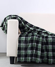"Berkshire VelvetLoft Plaid 50"" x 60"" Throw"