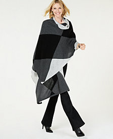 Charter Club Argyle Oversized Scarf, Created for Macy's