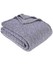 "PrimaLush™ Pebbles Embossed 108"" x 90"" King Bed Blanket"