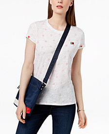 Tommy Hilfiger Sport Cotton Reversible T-Shirt, Created for Macy's
