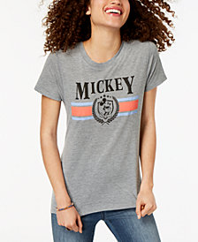 Modern Lux Juniors' Disney Mickey Mouse High-Low Graphic T-Shirt