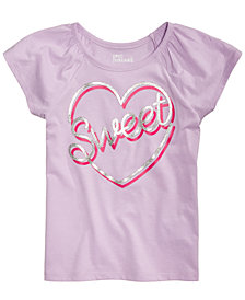 Epic Threads Little Girls Sweet Heart T-Shirt, Created for Macy's