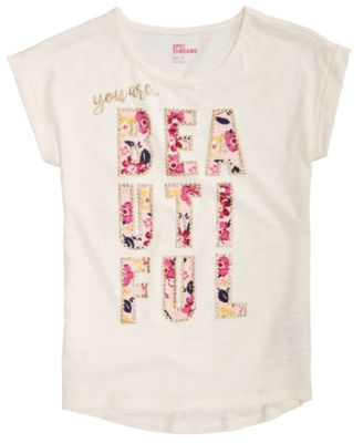 Big Girls You Are Beautiful T-Shirt, Created for Macy's