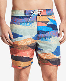 "Tommy Hilfiger Denim Men's Knobstone 6"" Board Shorts"