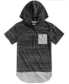 Big Boys Jorge Heathered Hooded T-Shirt