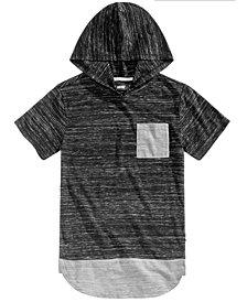 Univibe Big Boys Jorge Heathered Hooded T-Shirt
