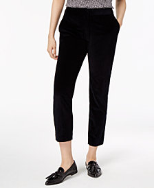 Weekend Max Mara Casarsa Cotton Corduroy Ankle Pants