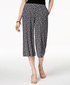 MICHAEL Michael Kors Printed Culotte Pants