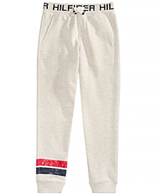 Tommy Hilfiger Little Boys Fleece Heathered Jogger Pants