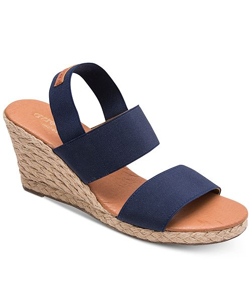 45d3b7689f36 Andre Assous Allison Wedge Sandals  Andre Assous Allison Wedge Sandals ...