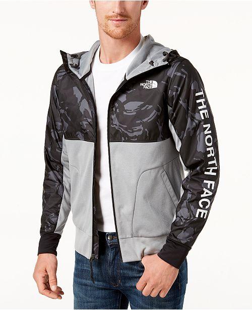 dd64dc669 The North Face Men's Camo Full-Zip Hooded Jacket & Reviews - Coats ...
