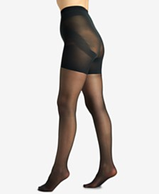 Berkshire Women's  Shaping Firm All The Way Butt Booster Tummy Control Top Hosiery 5051