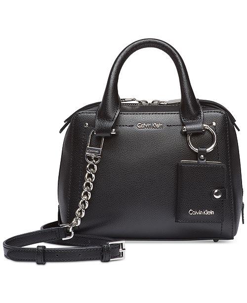 Calvin Klein Mini Boxy Bag - Handbags   Accessories - Macy s c64e5623aef