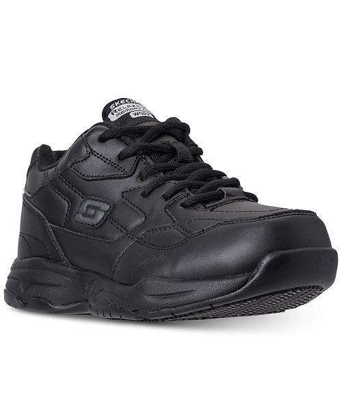Skechers Women's Relaxed Fit: Felton - Albie Sr Work Sneakers from Finish Line kejvfjs7xl