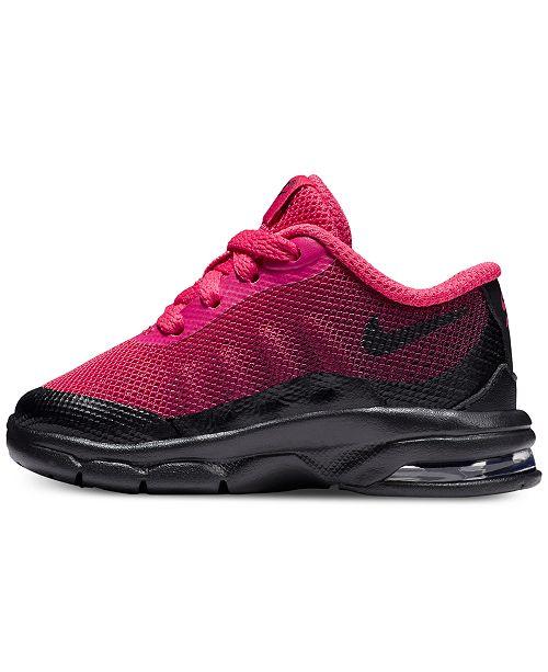 c7ea1cb137cd29 ... Nike Toddler Girls  Air Max Invigor Print Running Sneakers from Finish  ...