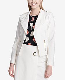 Calvin Klein Wide-Lapel Jacket