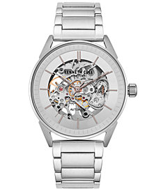 Kenneth Cole New York Men's Automatic Stainless Steel Bracelet Watch 42mm