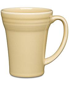 Fiesta Ivory Bistro Latte Mug